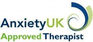 AnxietyUK Approved Terapist logo