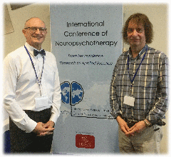 Picture of Chris Pearson with Prof Rossouw in Brisbane, Australia